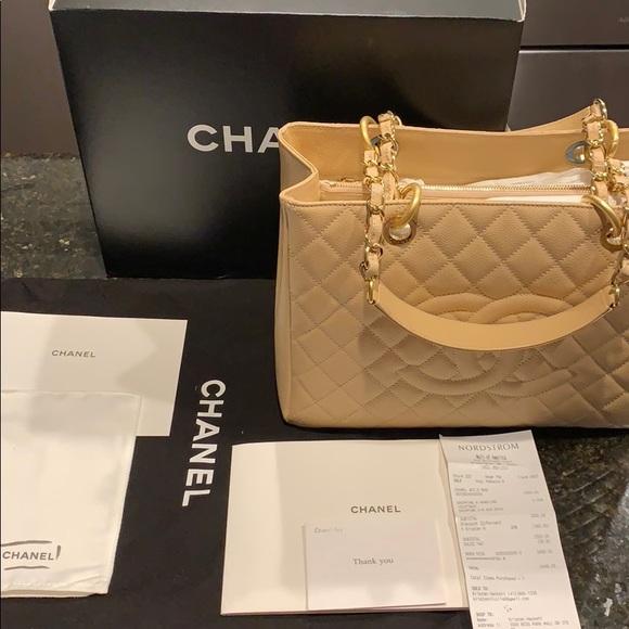 3a5918f4b9e0 CHANEL Handbags - AUTHENTIC Chanel Grand Shopping Tote